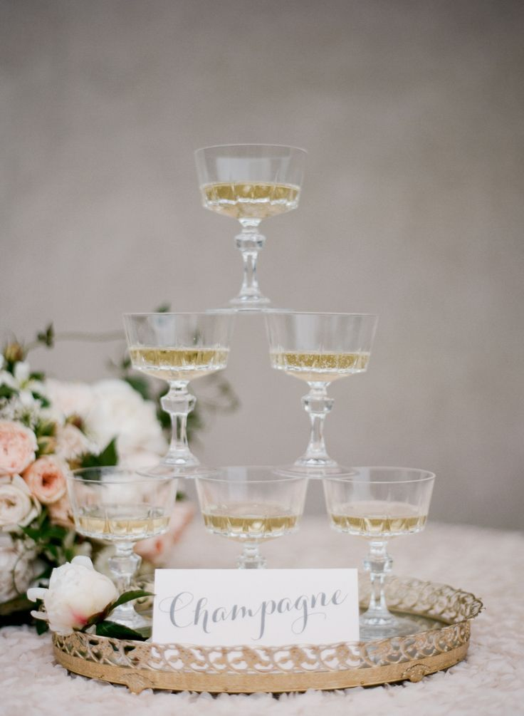 REVEL: Vintage Champagne Glasses