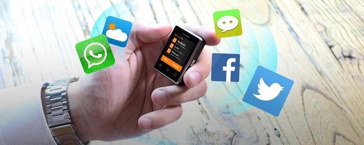Conheça o (provavelmente) menor smartphone com touchscreen do mundo - TecMundo