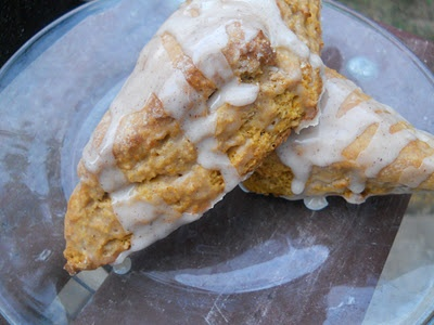 Maple Pumpkin Scones | Three Food Words | Pinterest
