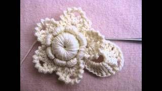 irish crochet - YouTube tutorial