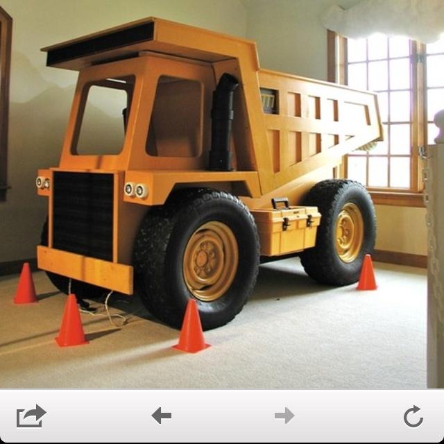 Dump truck bed nakoas dream for the home pinterest trucks beds and truck bed - Kids dump truck bed ...