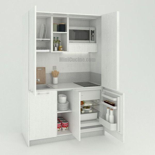 Monoblocco Cucina A Scomparsa Da Cm 139 Con Immagini Mini
