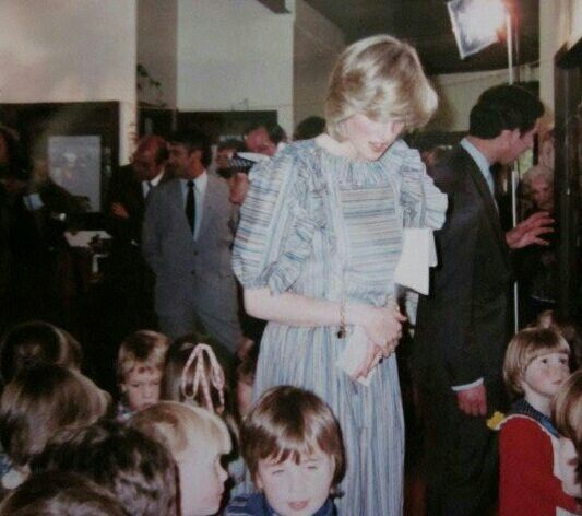 On the 25th of March 1983 The Cockatoo Kindergarten, Victoria, Australia was visited by Prince Charles and Princess Diana.