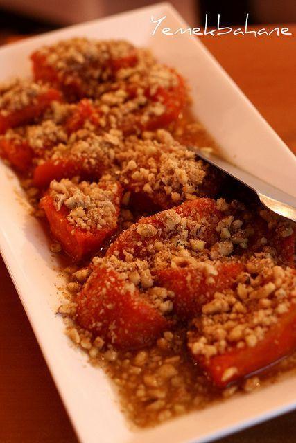 KABAK TATLISI (pumpkin dessert) :)
