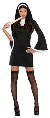 Blessed Nun Costume  X-Large  Dress Size 14-16 ---   Our attractive nun Halloween dress Features a brief get dressed and headpiece. The thigh highs and ruler dont seem to be incorporated with this attractive nun dress. Features a brief get dressed and headpiece Thigh highs and ruler dont seem to be incorporated Black  The post Blessed Nun Costume  X-Large  Dress Size 14-16 appeared first on Halloween Costumes Best.  #halloween #nun #costume