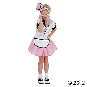 Soda Pop Girl Girl's Costume