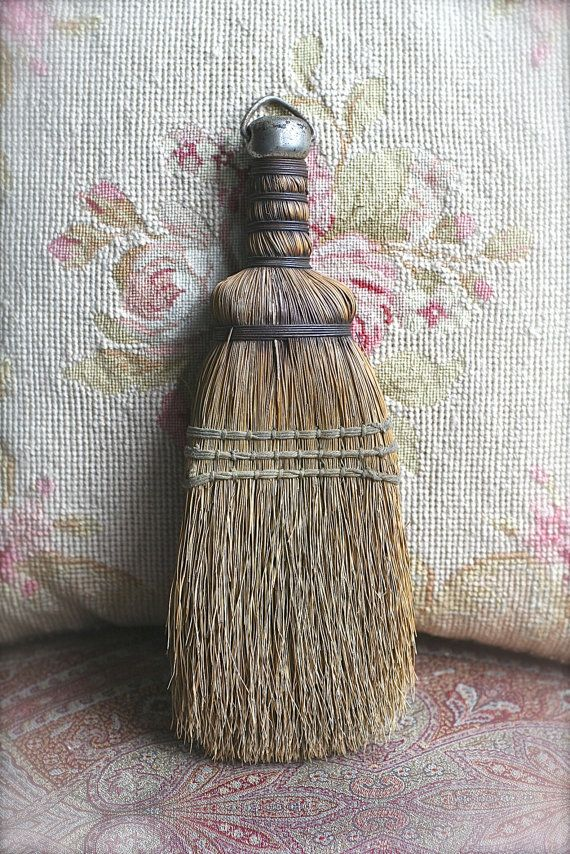 Rustic Whisk Broom by ivorybird on Etsy, $9.00