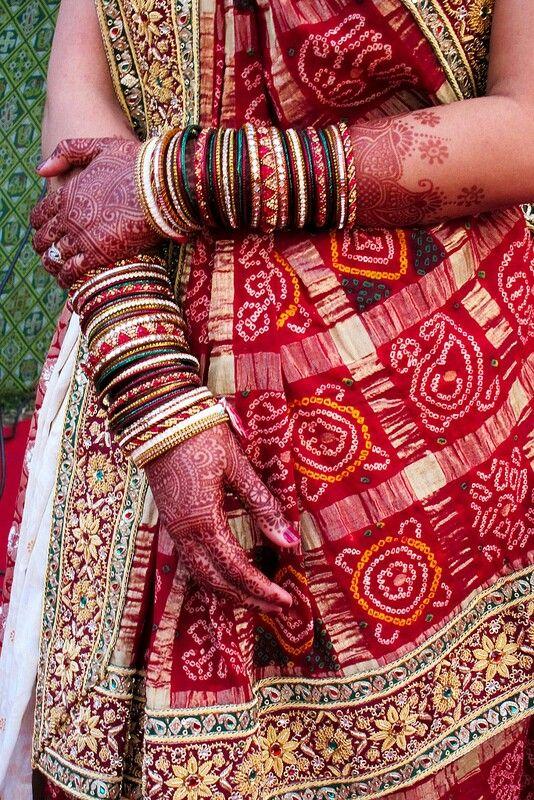 So Traditionally Indian - bandhani print