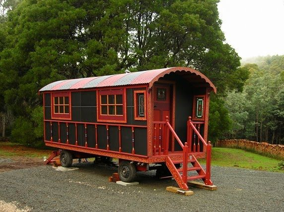 25 best ideas about shepherds hut for sale on pinterest small houseboats for sale gypsy - The mobile shepherds wagon ...