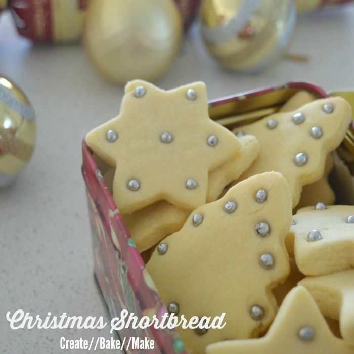 Christmas Baking - Shortbread - Create Bake Make