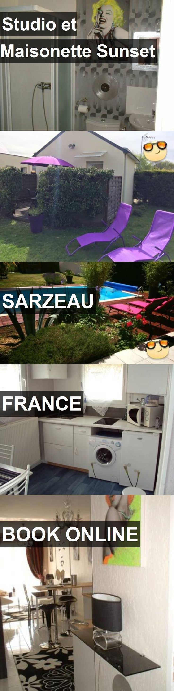 Hotel Studio et Maisonette Sunset in Sarzeau, France. For more information, photos, reviews and best prices please follow the link. #France #Sarzeau #StudioetMaisonetteSunset #hotel #travel #vacation