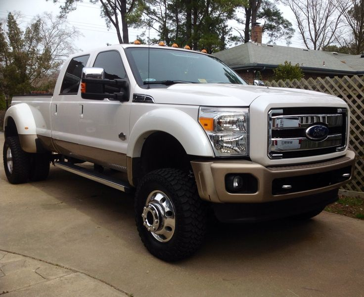 "King Ranch Ford >> 4"" lift on a 2012 F-450 King Ranch 