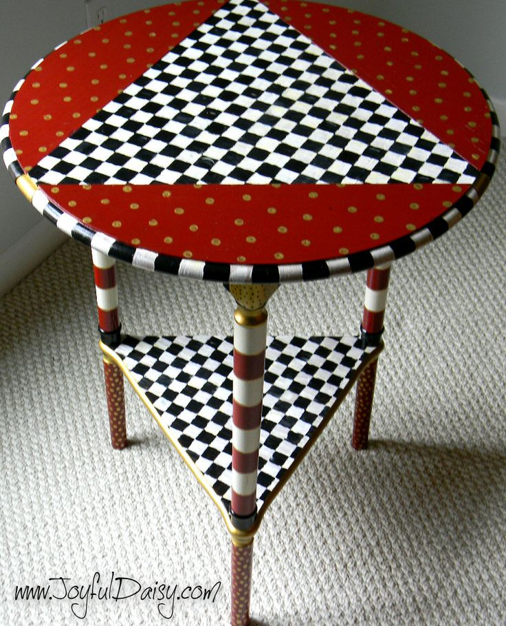 Attractive Mackenzie Childs Inspired Table Tips Childs Knock Offs Childs Furniture To  Treasure