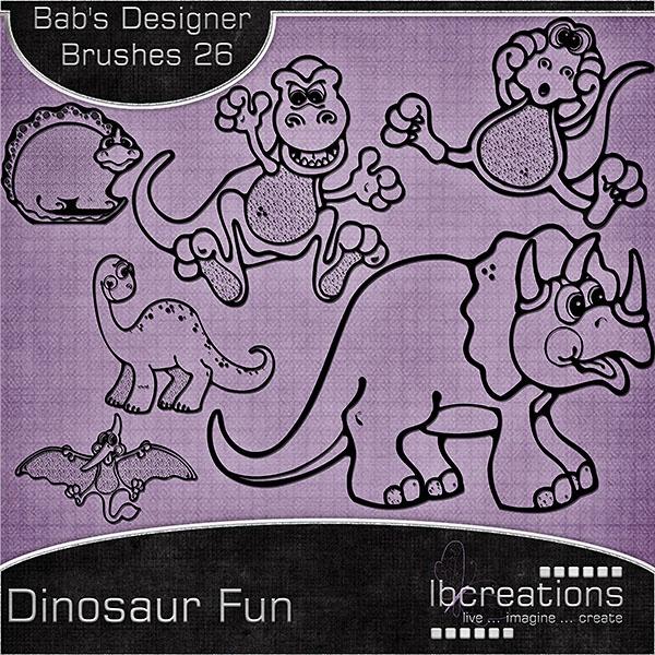 ISO: CU Dinosaur templates & goodies - DigiShopTalk Digital Scrapbooking