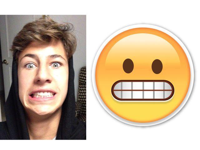 Juanpa Zurita tiene cara de emoticon