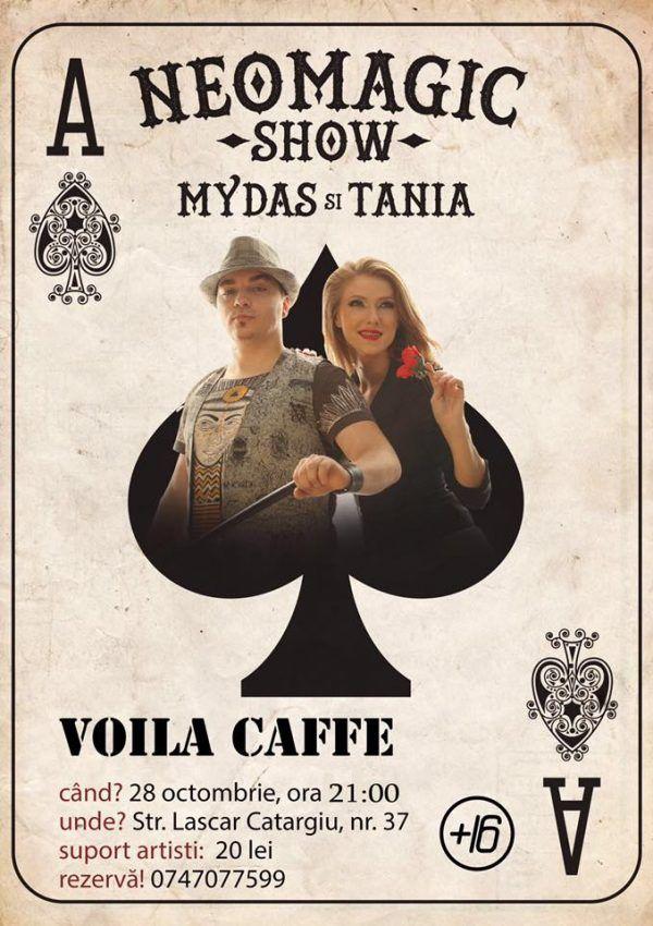 Show de Neomagie @Voila Caffe