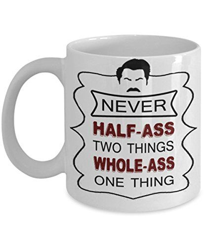 RON SWANSON COFFEE MUG ~ Best Gifts For Dad/mum/her/him Or Whoever Likes To  Have Coffee Mugs With Quote/ Pyramid Of Greatness   Bust  Bobblehead    Breakfast ...