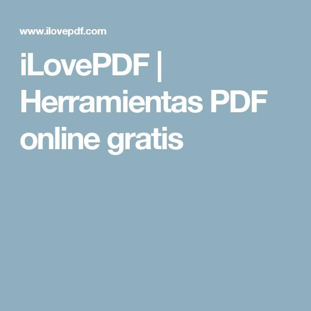 iLovePDF | Herramientas PDF online gratis