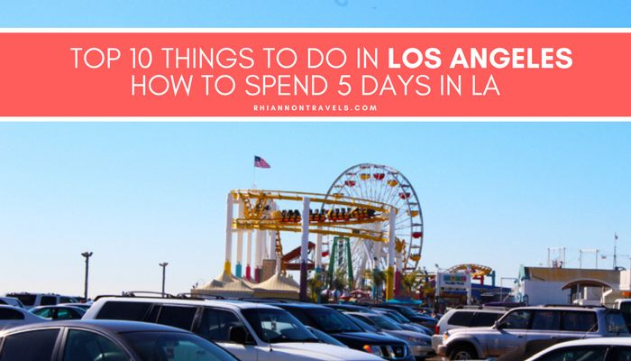 There are tons of things to do in Los Angeles. From beautiful beaches to spotting celebrities and epic theme parks, there's something for everyone!