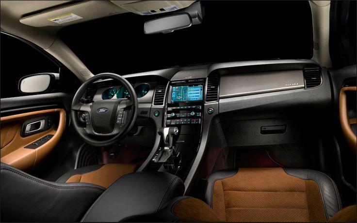 Ford Taurus SHO 2018 Design Decorations