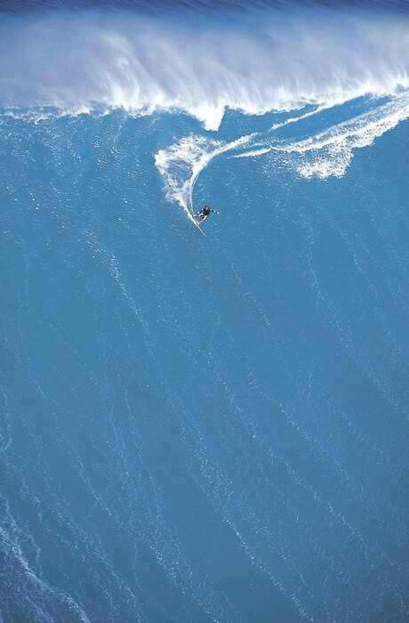Big wave surfing... Just incredible.