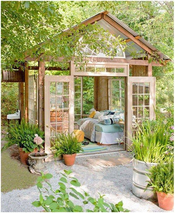 Howu0027s This For An Afternoon Nap House? Would Love In My Yard. Find This Pin  And More On Amazing Interior Design ...