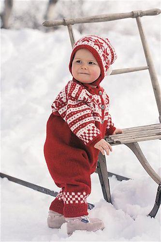 Ravelry: Fanadress i mini alpakka pattern by Sandnes Garn