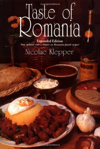 My favorite book in English for Romanian recipes. I like the versions he gives of traditional Romanian recipes. Also includes tidbits on Romanian culture.  It's a great gift for someone who loves Romania.