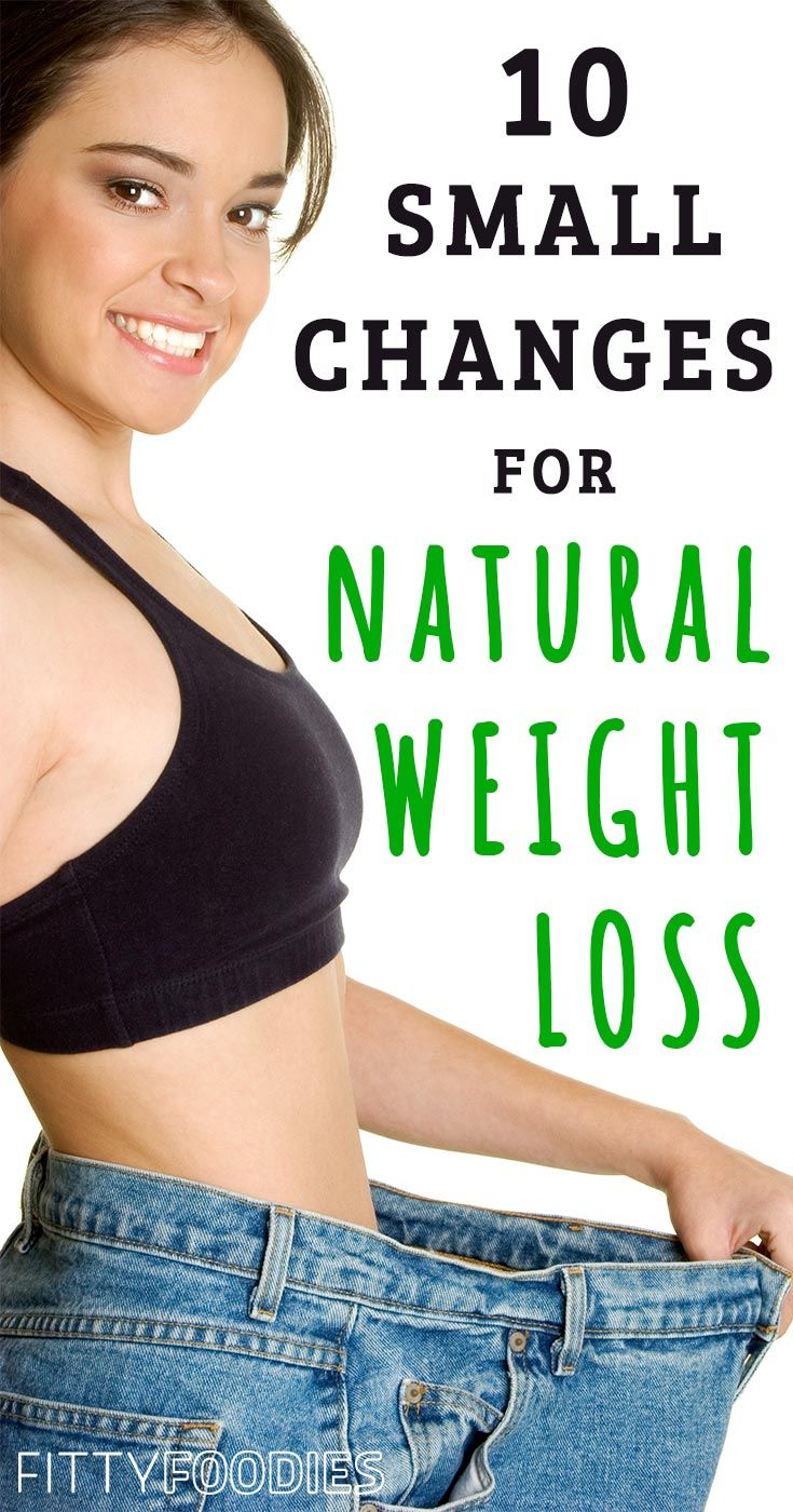 Losing weight can be a real pain sometimes! Especially when you don't know what to do. Let me share with you 10 small changes to lose weight naturally!
