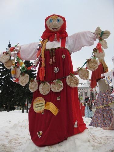 Ярославль. Куклы Масленицы | o-gorod