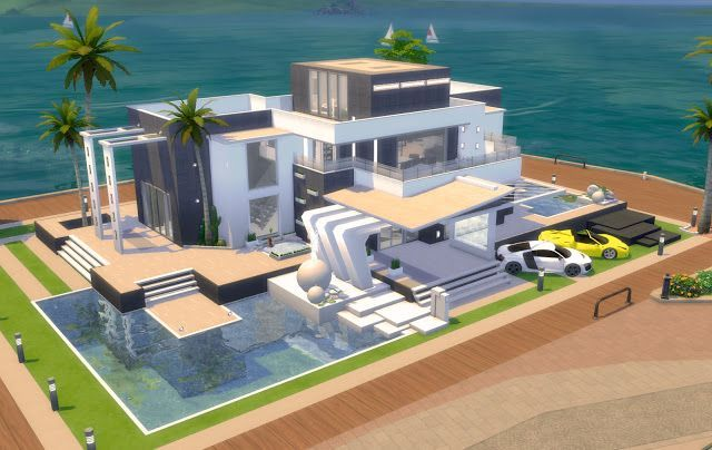 Celebrities Sims 4 House Design Sims House Design Sims House