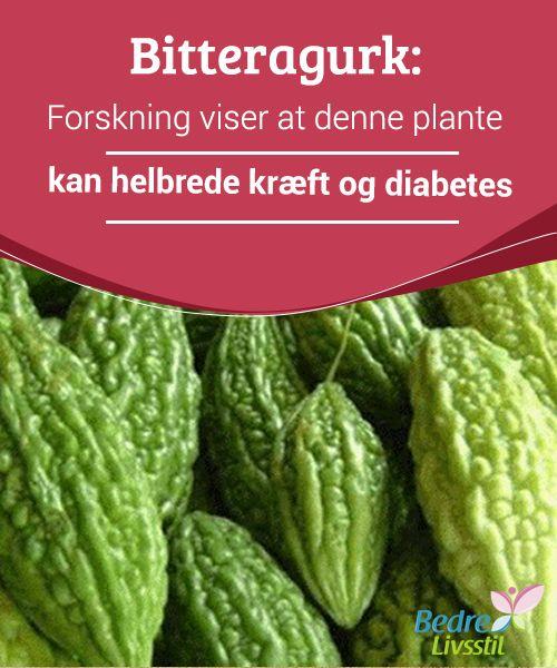 Bitteragurk: Forskning viser at denne plante kan helbrede kræft og diabetes  Bitteragurk er en #art af cucurbit af tropisk #oprindelse og indtages ofte som en te. Ifølge #forskning kan denne plante #kurere kræft og diabetes