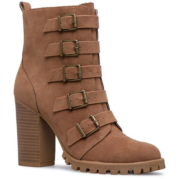 See this and similar ankle booties - In Casey, you better buckle up because it's going to be a wild ride! Wear this lug sole style with every single fall outfit...