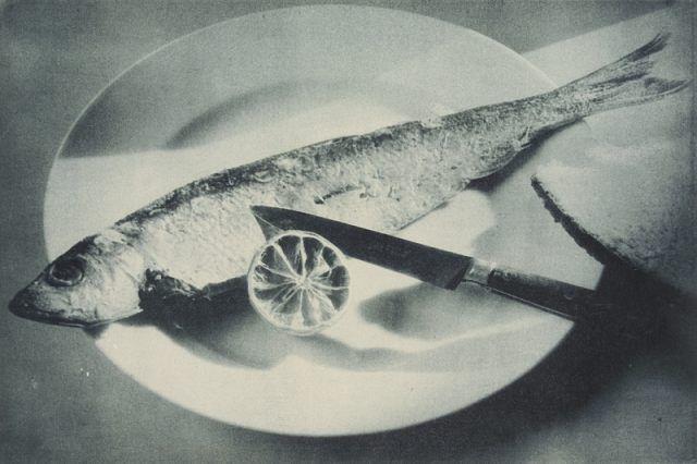 Pécsi József: Hal citrommal, 1928.