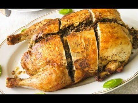 Como Deshuesar un Pollo para Rellenar