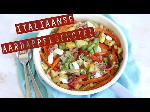 Italiaanse aardappelschotel (+video) - Lekker en Simpel