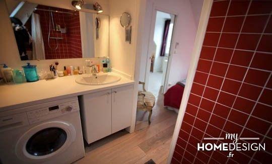 Les 25 meilleures id es de la cat gorie peindre lavabos sur pinterest salles de bains peintes - Peindre sa salle de bain en gris ...