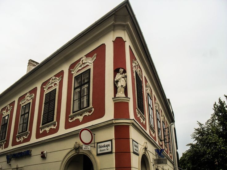 "Hátsókapu sarok / ""Back gate"" corner (Sopron, Győr-Moson-Sopron, Transdanubia)"