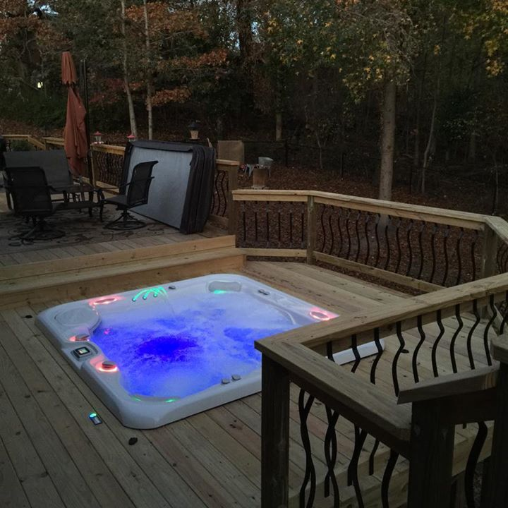 84 best deck and patio ideas images on pinterest - Spa Patio Ideas