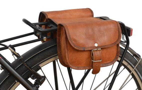 Gusti Leder 'Sabine S.' Fahrradtasche Doppelpacktasche