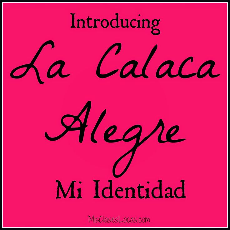 "My Spanish IV class - the great novel  La Calaca Alegre  by Carrie Toth. ""Identidad"" unit starters"