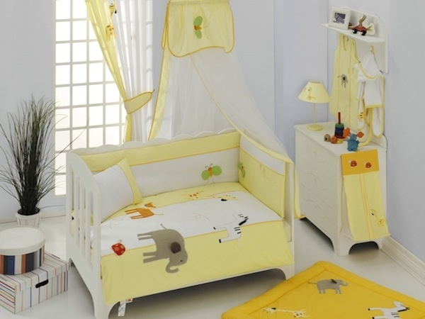 My Animals-Baby Bedding Set