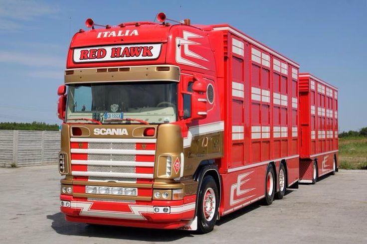 SCANIA - Red Hawk