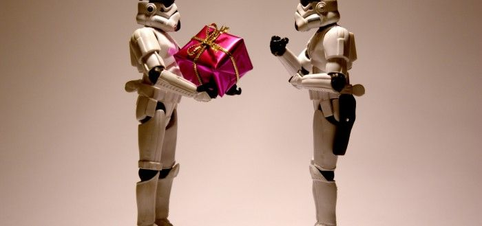 Stormtrooper Christmas wallpaper