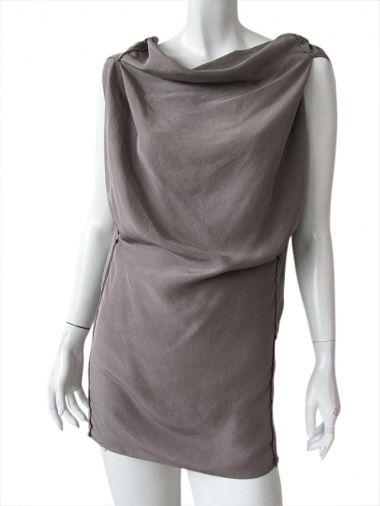 Sleeveless t-shirt 100% Silk by Nicolas & Mark @ EUR 77.00 from dressspace.com