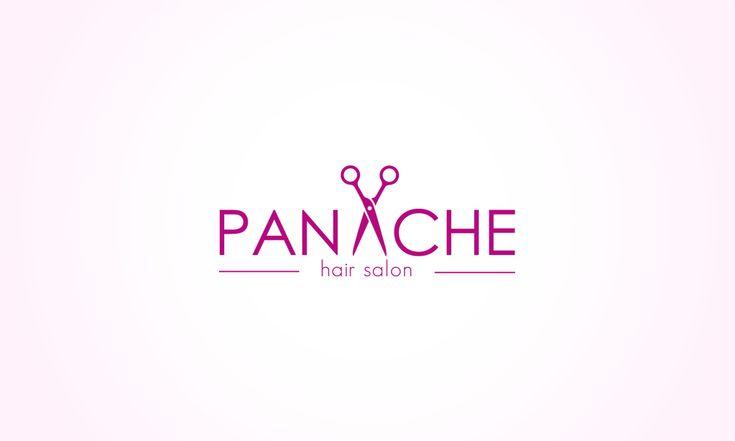 PANACHE hair salon logo by Evey90 on DeviantArt