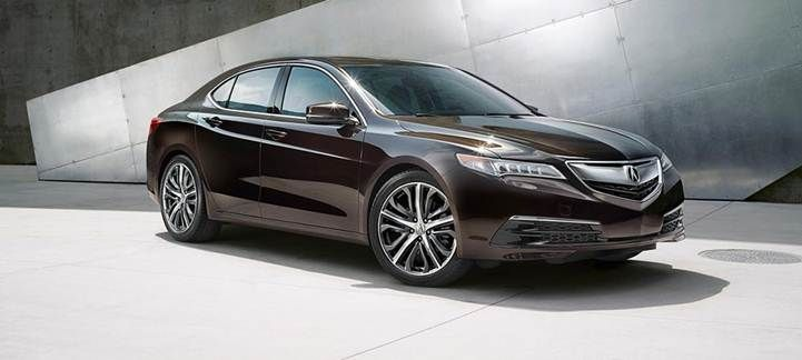 2016 Acura TL front