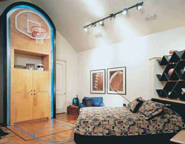Boys Sports Bedroom. Do you have a teen boy that needs or wants bedroom redo  I m sharing some creative ideas Come and pick out your favorite idea 18 best Teen boys room images on Pinterest Room kids Bedroom
