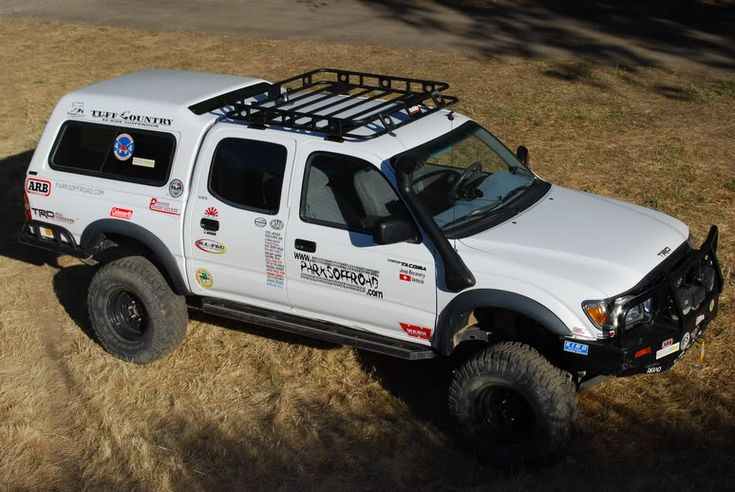 Toyota Tacoma Roof Rack >> Truck Cab & Camper Shell Roof Baskets & Rack Setups? - Expedition Portal | 4RUNNER | Pinterest ...