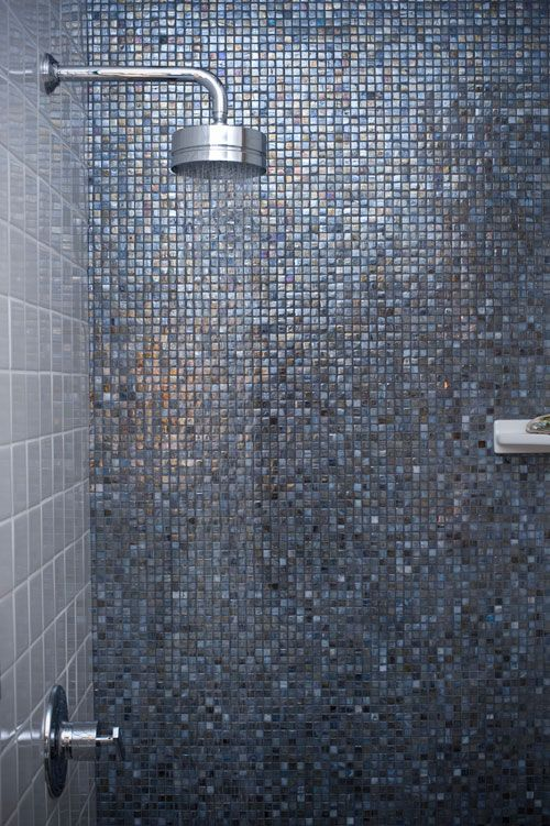 Great Idea Less Expensive Tiles On Side Walls And The